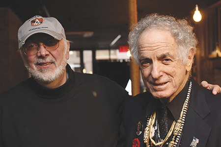 David Amram and Roger Paradiso